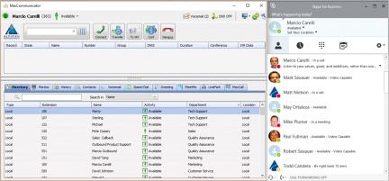 Altigen MaxCommunicator with Skype integration